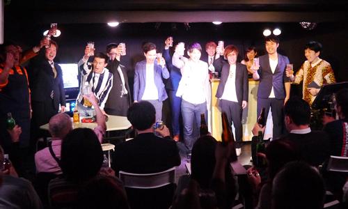 赤坂スナックフェスティバル2で乾杯