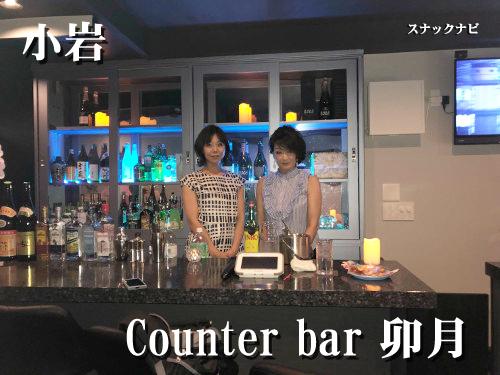 Counter-bar-卯月(小岩)